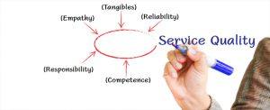 کیفیت خدمات فروشگاه الکترونیک